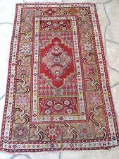 3x5ft. Antique Handmade Turkish Melas Wool Rug