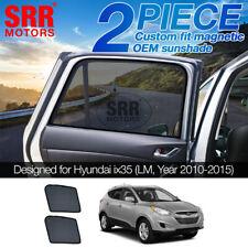 Custom Magnetic Sun Shade Rear Door Car Window Hyundai ix35 LM LM2 2010-2015