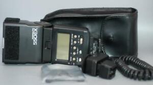 Canon 550EX Speedlite Flash w OC Shoe Cord 2 for EOS DSLR camera - Mint-!