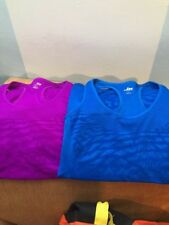 MORET ULTRA Womens Purple-blue Pattern Stretch fitness gym Tank Top Size Small