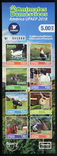 Ecuador 2018 MNH Domestic Animals Cats Dogs Horses 5v Strip + 8v Booklet Stamps