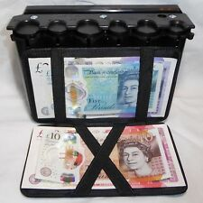 CASH DISPENSER HIGH CAPACITY & MAGIC WALLET coin note holder taxi cab bus driver