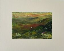 `Black Mountain Pass.S.Wales 1964.` Original Signed Painting W.colour/Acrylic.