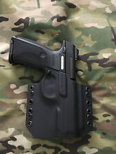 Black Kydex Ruger SR9 40 Holster