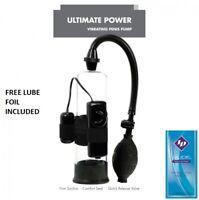 Ultimate Power Penis Pump Erection Enhancer Male Enlarger Extender - FREE LUBE