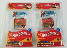 Lot of 2 World's Smallest Hot Wheels Die Cast Cars Twin Mill & Roger Dodger #516