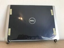 """New Dell XPS M1330 13.3"""" Blue LED LCD Back Cover w/Hinges HT258"""