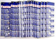 100x CR1216 Battery Lot Lithium Button Coil Cell 3v 1216  DL1216 ECR1216 BR1216
