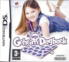 MIJN GEHEIM DAGBOEK voor Nintendo DS NDS