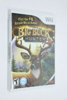 NINTENDO WII ** Big Buck Hunter Pro ** RARE GAME NEW FACTORY SEALED