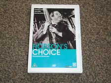 HOBSON'S CHOICE : CHARLES LAUGHTON / JOHN MILLS DVD IN VGC (FREE UK P&P)