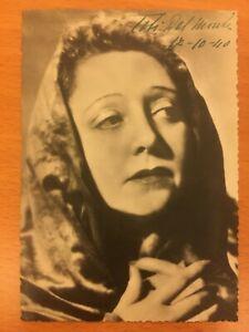 Fotografia autografa di Toti Dal Monte