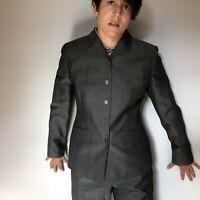 Ann Taylor Loft Pant Suit Size 8 100% Wool
