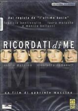 Dvd **RICORDATI DI ME** di Gabbriele Muccino con Monica Bellucci nuovo 2003