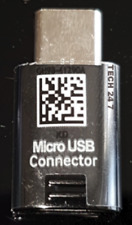 GENUINE SAMSUNG TYPE-C TO MICRO USB ADAPTER CONNECTOR FOR S8 S8+ (A3 A5 A7 2017)