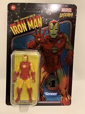 Invincible IRON MAN Marvel Legends 1st EDITION Retro Kenner 3.75 In. UNPUNCHED