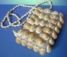 Vintage Accessory SeaShore Sea Shell Handmade Bag Purse Handbag Collectible