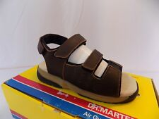 New Vtg Dr Doc Martens Kids 6811 Gripper Sandals Brown NOS UK 1 US Youth 2