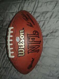Game Used Football Philadelphia Eagles vs Falcons 1-11-2003 McNabb Vick w/ Cert