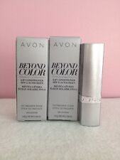 Avon Beyond Color plumping lip conditioner with Spf 15 sunscreen lot of (2)