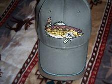 Walleye Fishing Hat