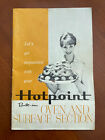 Vtg Hotpoint Built-in Oven and Surface Section Stove Booklet Manual Recipes  photo
