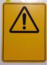 WARNING SIGN - GENERAL DANGER - BLANK - COLORBOND STEEL (MS5)
