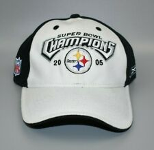 Pittsburgh Steelers Reebok 2005 NFL Super Bowl Champions Strapback Cap Hat