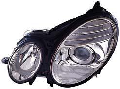 2007 2008 2009 Mercedes-Benz E300 E350 New Left/DRIVER Headlight Assembly