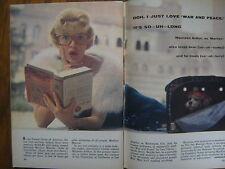 1961  TV Guide (MAUREEN  ARTHUR/MARIYLN  MONROE/GEORGE  MAHARIS/JACKIE GLEASON