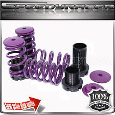 Coilover Lowering Spring Kits Adj. for 90-99 Eclipse Sentra Tercel Coroll Purple