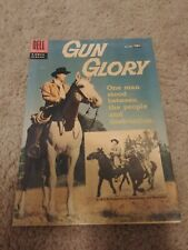 Dell Gun Glory # 846 1957 Toth Art Excellent Condition