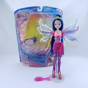 Jakks Pacific Winx Club Musa Bloomix Fairy Transformation Doll! RARE NOOB
