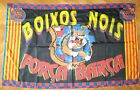 BANDERA FLAG FC BARCELONA GRANDE 146x92 ULTRA BOIXOS NOIS OFICIAL DRAPEAU FLAGGE
