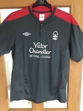 Nottingham Forest Training Football Shirt 2010 - 2011 Umbro XL