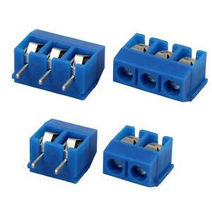 20 Stück Klemmleiste Anschlussklemmen Schraub-Klemme Print-Klemme Terminal Block
