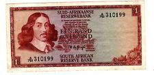 AFRIQUE DU SUD / SOUTH AFRICA 1 RAND 1973 1975 P116 RIEBEECK / MOUTON BON ETAT