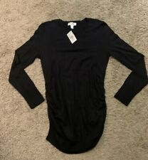 NWT! Motherhood Maternity Ruched Sweater - Size Medium