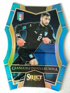 2016-17 Select Gianluigi Donnarumma Blue Die-Cut # /249 Mezzanine Italy Rookie