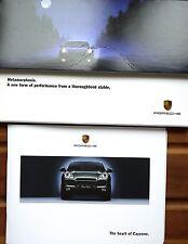 Porsche; 2002 Cayenne, Sales Brochure.