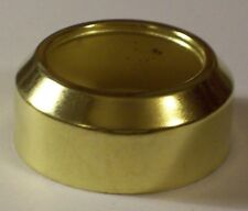 #2 STEEL BRASS PLATED COLLAR FOR #2 BRASS PLATED OIL LAMP BURNERS 54356J
