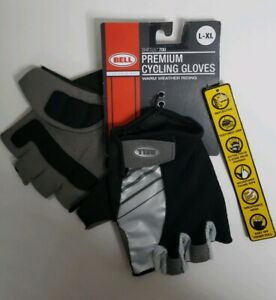 Bell Shifter 700 Premium Cycling Gloves, Large/X-Large , Black/Charcoil NWT