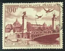 France #C28 Used CV$5.25 Alexander III Bridge & Petit Palais Paris
