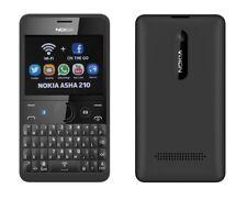 Nokia Asha 210 in Black Handy Dummy Attrappe - Requisit, Deko, Ausstellung