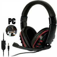 Pro Gaming Headset for Playstation PS4 / PS Vita - Mic - Red