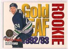"1992-93 Leaf  ""Gold Leaf Rookies""  Patrick Poulin"