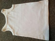 Girls NEXT vest top white red blue & white stripes BNWOT 3-6 months to 4-5 years