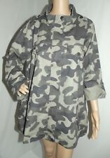 STOOSH 1X GREEN CAMO EMBROIDERED MILITARY STYLE JACKET pink floral coat