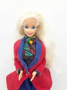 VTG~1991 ENGLISH BARBIE DOLL-DOLLS OF THE WORLD COLLECTION-MATTEL-#4973