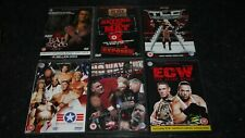 joblot of wrestling dvds x 6